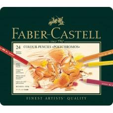 Faber-Castell - Polychromos Colored Pencils (24 pieces)