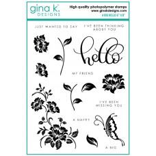 Gina K. Designs - A Big Hello