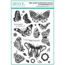 Gina K. Designs - Beautiful Butterflies 2