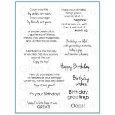 Gina K. Designs - Birthday Greetings