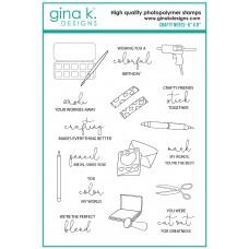 Gina K. Designs - Crafty Notes