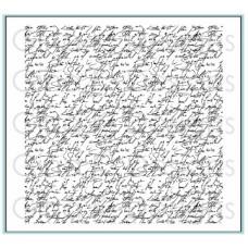 Gina K. Designs - Elegant Script Background Stamp