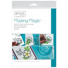 """Gina K. Designs Masking Magic Sheets 5x7"""" (12 sheets)"""