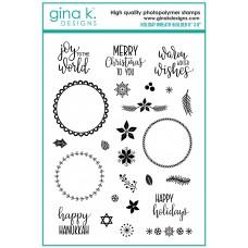 Gina K. Designs - Holiday Wreath Builder