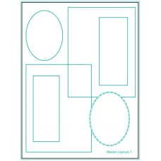 Gina K. Designs - Master Layouts 1 Die Set