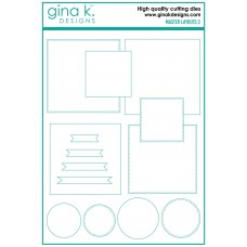 Gina K. Designs - Master Layouts 3 Die Set