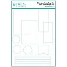 Gina K. Designs - Master Layouts 8 Die Set