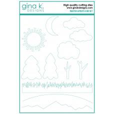 Gina K. Designs - Master Layouts 6 Die Set