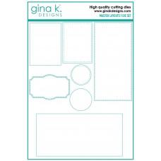 Gina K. Designs - Master Layouts 7 Die Set