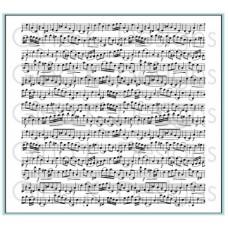 Gina K. Designs - Music Medley Background Stamp