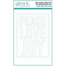 Gina K. Designs - Piece Love and Joy Plate Die