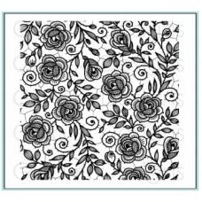 Gina K. Designs - Rose Lace Background Stamp
