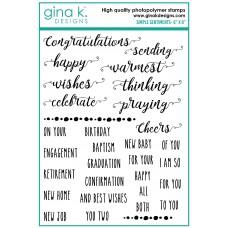 Gina K. Designs - Simple Sentiments