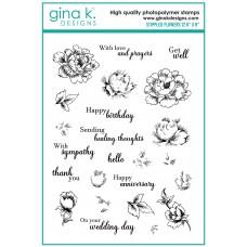 Gina K. Designs - Stippled Flower