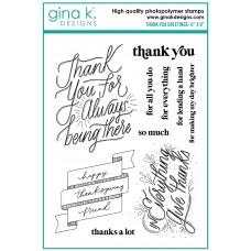 Gina K. Designs - Thank You Greetings