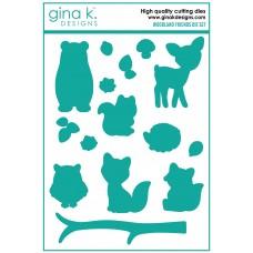 Gina K. Designs - Woodland Friends Die Set