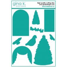 Gina K. Designs - Winter Window Die Set