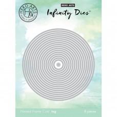 Hero Arts - Nesting Circle Infinity Dies