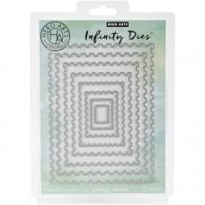 Hero Arts - Nesting Postage Stamps Infinity Dies