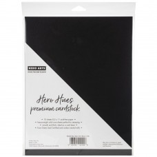 Hero Arts – Hero Hues Premium Cardstock – Pitch Black