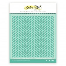 Honey Bee Stamps - Cable Knit Sweater Stencil