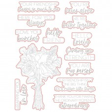 Honey Bee Stamps - Love You Bunches Honey Cuts