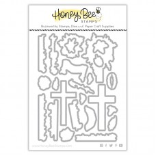 Honey Bee Stamps - Old Rugged Cross Honey Cuts