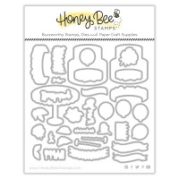 Honey Bee Stamps - Fancy Frosting Honey Cuts