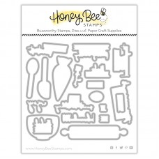 Honey Bee Stamps - Baked With Love Honey Cuts