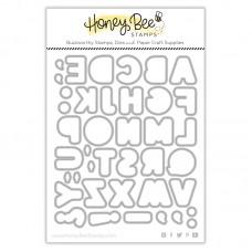 Honey Bee Stamps - Sugar Cookie Alphabet Honey Cuts