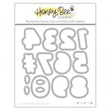 Honey Bee Stamps - Sugar Cookie Numbers Honey Cuts