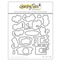 Honey Bee Stamps - Smitten Kittens Honey Cuts