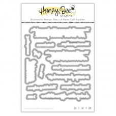 Honey Bee Stamps - Rainbow Bridge Honey Cuts