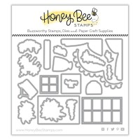Honey Bee Stamps - She Shed Barn Add-On Honey Cuts