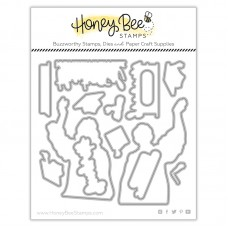 Honey Bee Stamps - Cap And Gown Honey Cuts