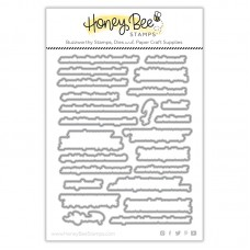Honey Bee Stamps - Inside: Thankful Sentiments Honey Cuts