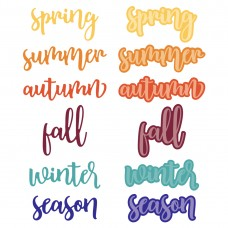 Honey Bee Stamps - Bitty Buzzwords: Seasons Honey Cuts
