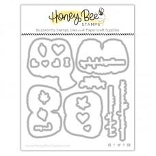 Honey Bee Stamps - Hedgehugs Honey Cuts