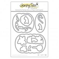 Honey Bee Stamps - Patchwork Pumpkin Honey Cuts
