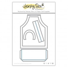 Honey Bee Stamps - Apron A2 Card Honey Cuts