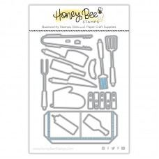 Honey Bee Stamps - Apron: BBQ Add-On Honey Cuts