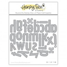 Honey Bee Stamps - Bee Bold Lowercase Honey Cuts