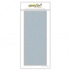 Honey Bee Stamps - Basketweave Slimline Cover Plate Honey Cuts