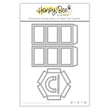 Honey Bee Stamps - Hexagon Box Cover Honey Cuts