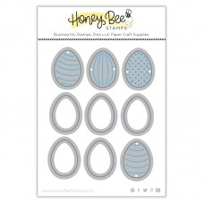 Honey Bee Stamps - Itty Bitty Eggs Honey Cuts