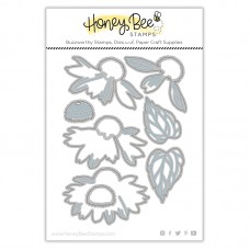 Honey Bee Stamps - Lovely Layers: Coneflower Honey Cuts
