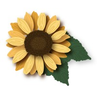 Honey Bee Stamps - Lovely Layers: Sunflowers Honey Cuts