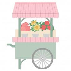Honey Bee Stamps - Market Cart Builder Honey Cuts