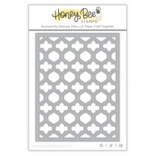 Honey Bee Stamps - Quatrefoil A2 Cover Plate - Top Honey Cuts
