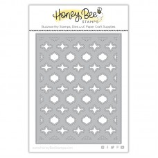 Honey Bee Stamps - Quatrefoil A2 Cover Plate - Base Honey Cuts